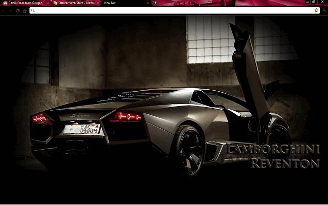 Google Chrome Lamborghini Theme