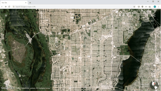 Google Earth Images Theme for chrome min