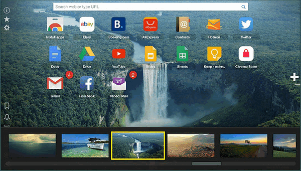 home new tab extension for web browser min