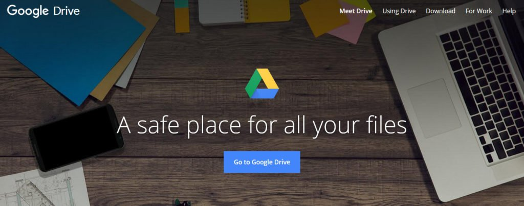google drive best cloud storage of 2019