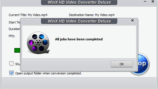 convert video intok