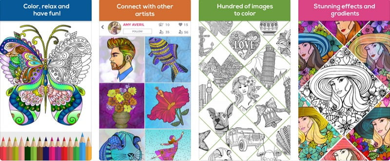 Coloring Book App For iPad