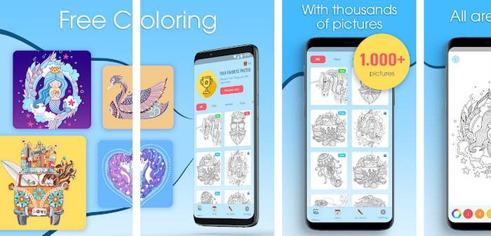 coloring book app 2020