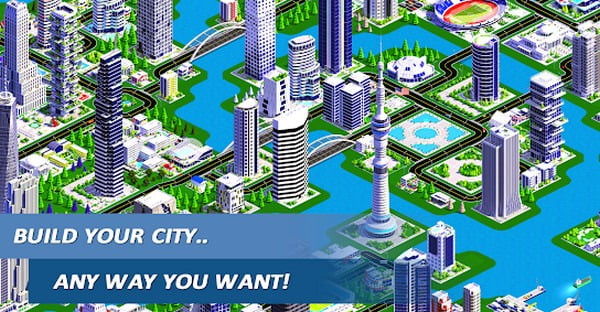 10. Designer City 2: Building Game