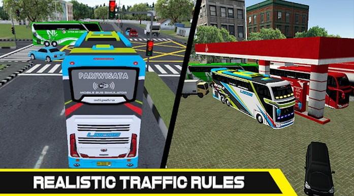 Mobile Bus Simulation Game