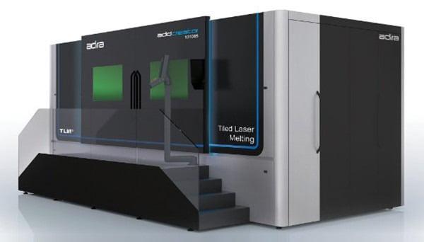 Tiled Laser Melting technology