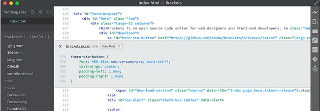 open source code editor for linux