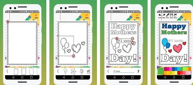 coloring page maker app