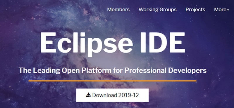 eclipse text editor for linux