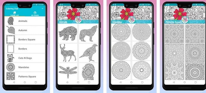 recoloring app for android