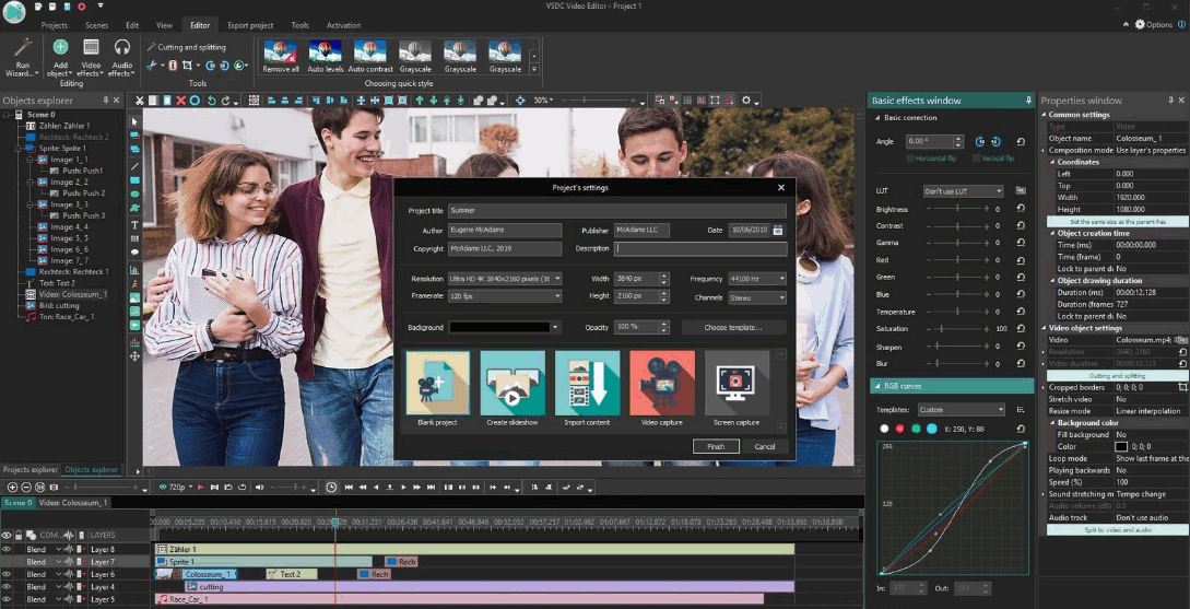 how to use VSDC Free Video Editor
