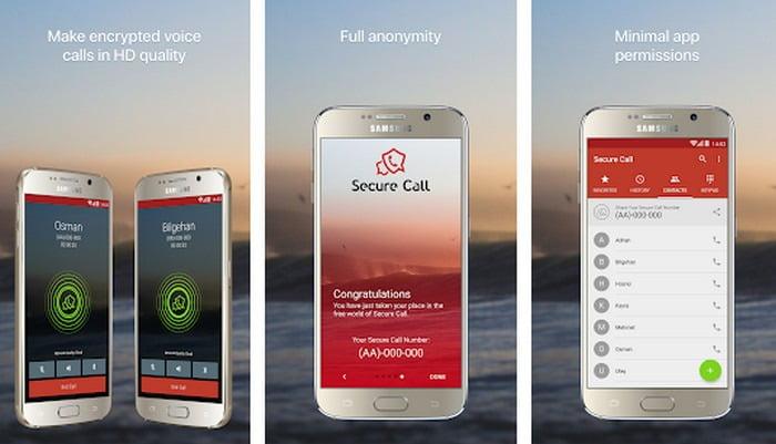 Secure Calling App