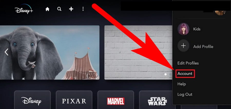 how to change payment settings on disney+