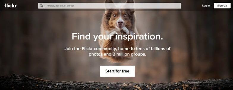 free photo sharing website