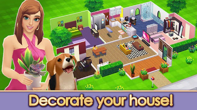 A House Design Game