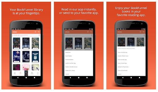 BOOKFUNNEL App