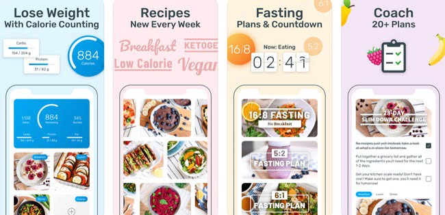 Calorie Counter App for iPhone