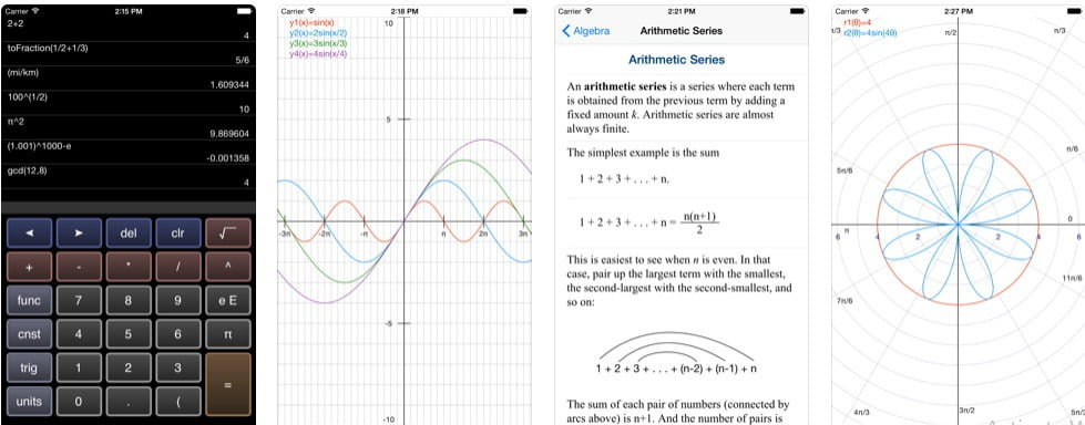 Graphing Calculator App