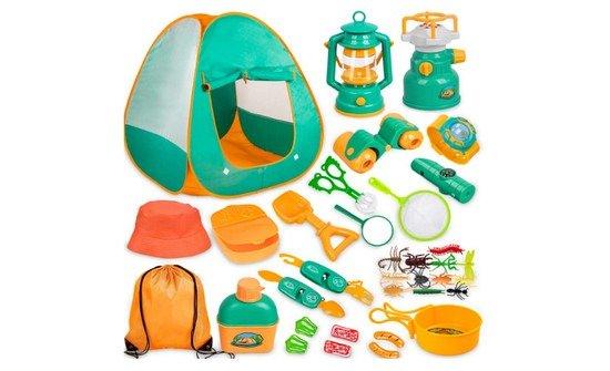 Meland Kids Camping Set with Tent 20pcs