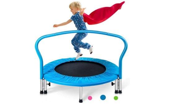 Mini Trampoline for Kids Exercise