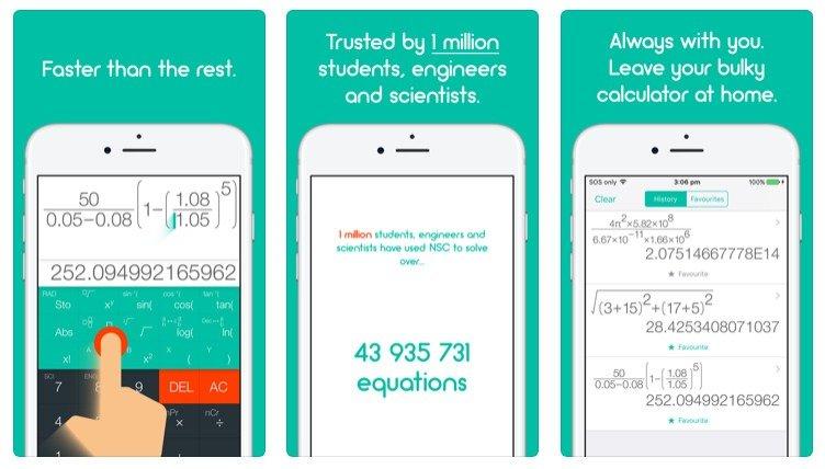 Natural Scientific Calculator App