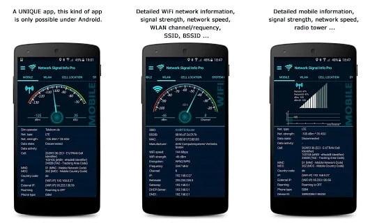 Network Signal Info app