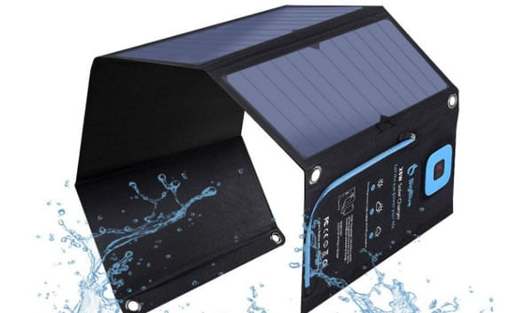 Solar Charger with Digital Ammeter