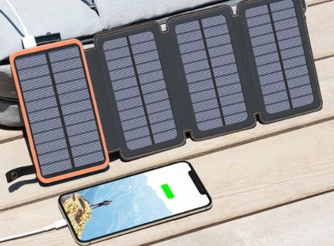 Tranmix Solar Charger