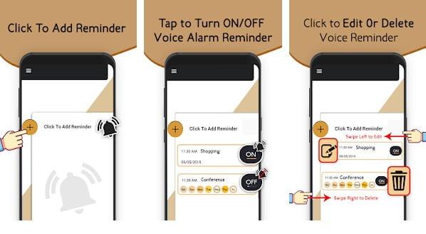 Voice Reminder App