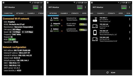 Wifi Monitor app