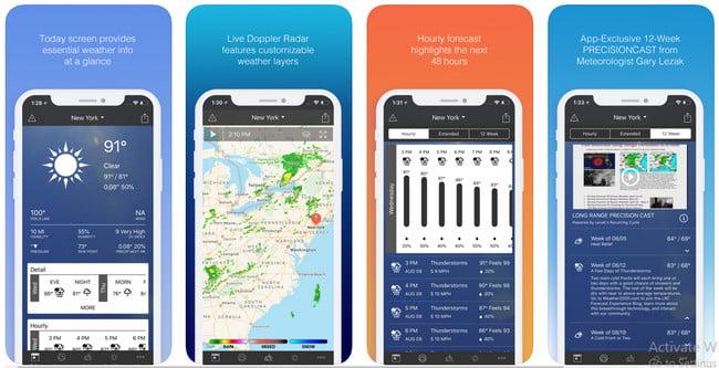 1 Weather app