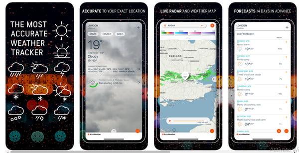AccuWeather iPhone