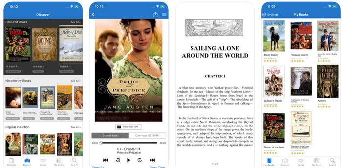 Audiobooks and eBooks