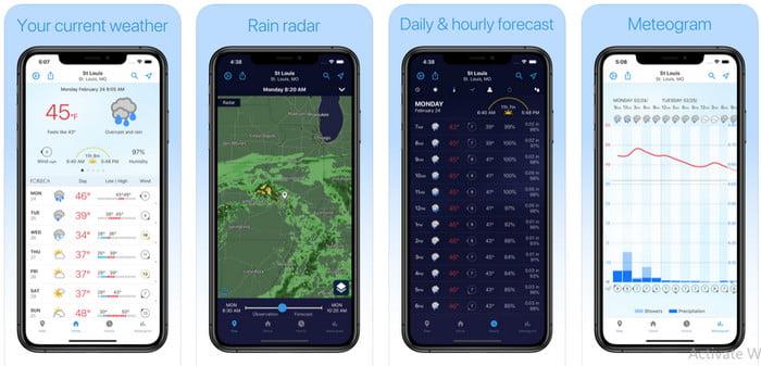 forcea weather app