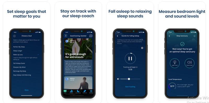 Sleep Score app
