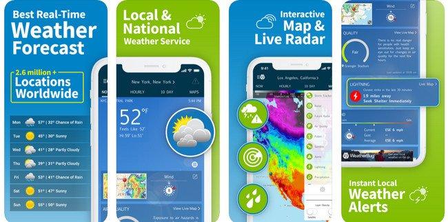 weatherbug app