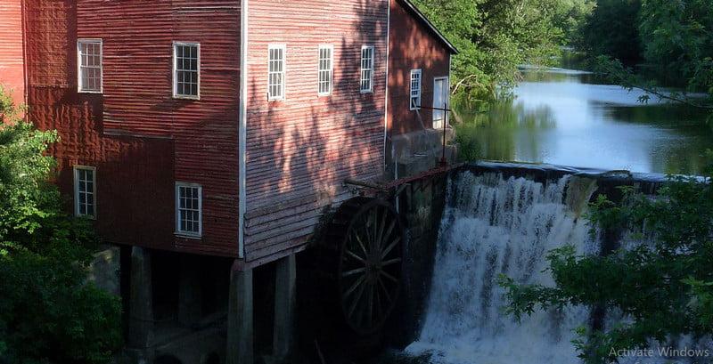 Dells Mill In Wisconsin