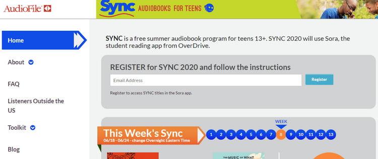 audiobooks sync