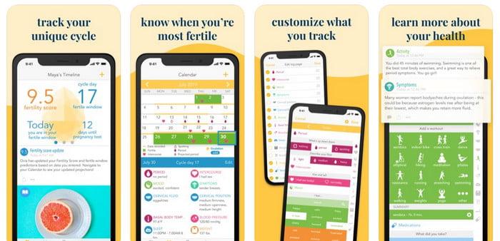 ovia fertility app