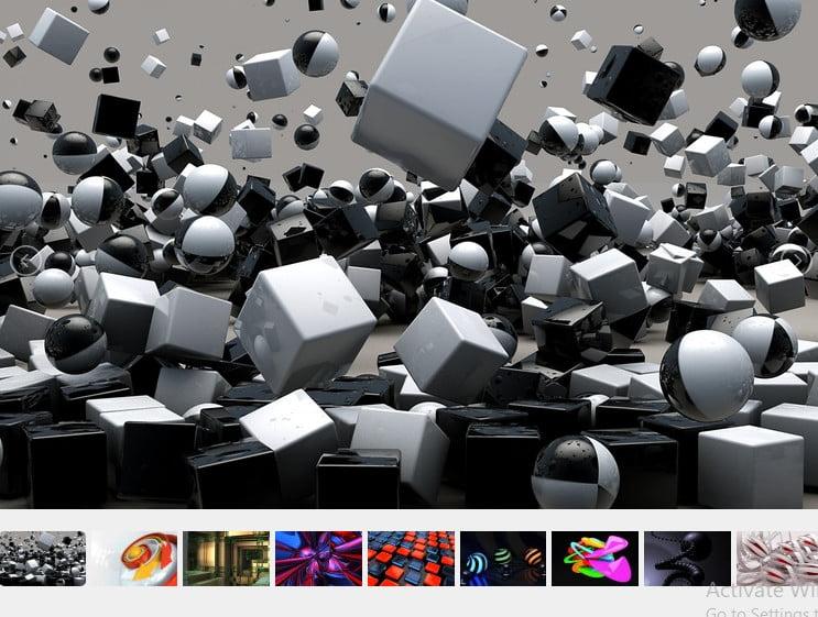 3D Theme For Windows 10