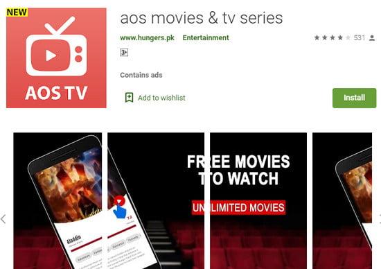 Aos Movies App