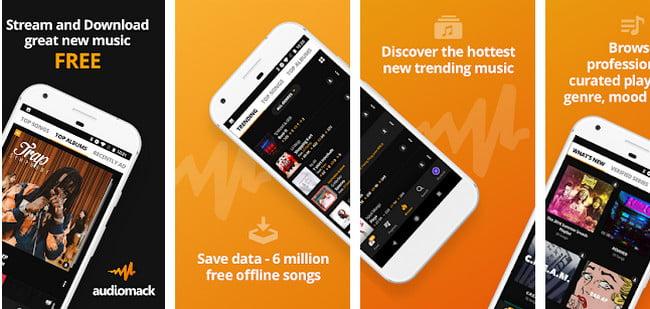 Audiomack app