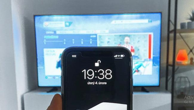 Screen Cast Phone To Smart TV