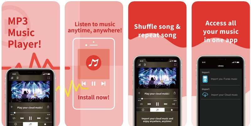 MP3 Music Player For iPhone