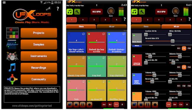 Music Studio app