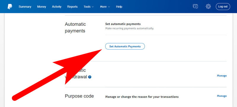 Cancel PayPal Automatic Payment