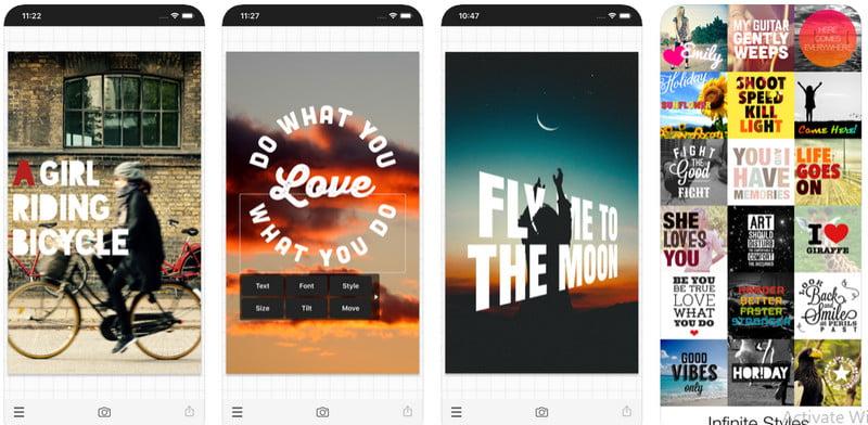 Phonto app