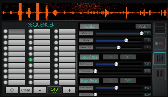 Music Rhythm Making App