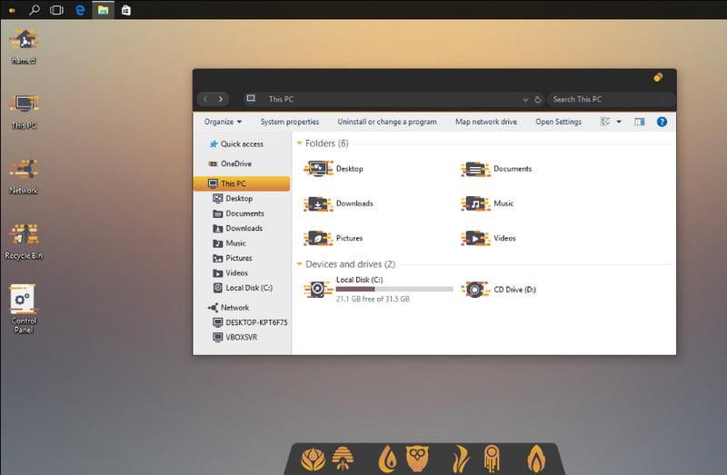 Unity Theme For Windows