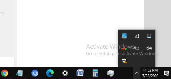 hidden apps in Windows